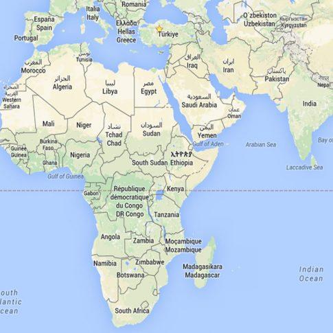 CİBUTİ - ETİYOPYA - KENYA - MALAVİ - MOZAMBİK - SOMALİ - TANZANYA - UGANDA - ZAMBİYA - ZİMBABWE - ANGOLA - KAMERUN - KONGO - DEMOKRATİK KONGO CUMHURİYETİ - CEZAİR - LİBYA - FAS - MISIR - TUNUS - NAMİBYA - GÜNEY AFRİKA - BURKİNA FASO - GANA - GİNE - NİJER - NİJERYA - SENEGAL - TOGO -