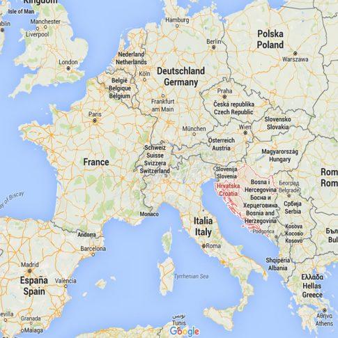 ALMANYA - AVUSTURYA - BELÇİKA - DANİMARKA - FRANSA - ÇEK CUMHURİYETİ - HIRVATİSTAN - YUNANİSTAN